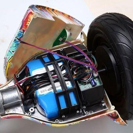 Гироскутер Smart Balance Черная Молния 10,5 APP самобалансир (Samsung)