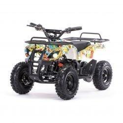 Детский квадроцикл на аккумуляторе MOTAX Mini Grizlik Х-16 мощностью 1000W бомбер (пульт контроля, до 35 км/ч)