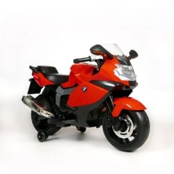 Детский электромотоцикл BMW K1300S 12V - Z283 красный (колеса резина, музыка)